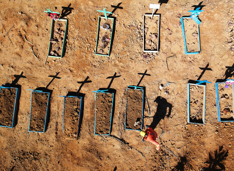 vala comum manaus - Brasil registra 566 novas mortes por covid-19 em 24 horas
