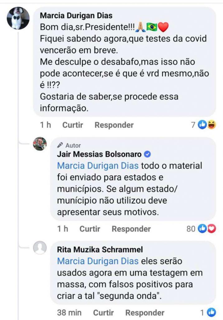 1606137861123 716x1024 - Bolsonaro ignora testes encalhados e culpa governadores: 'Todo o material foi enviado para Estados e municípios'
