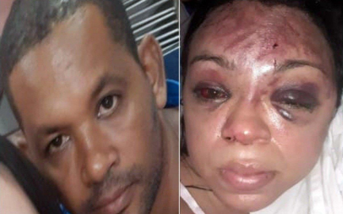 1 mare 20493746 - Homem espanca a esposa e avisa à filha: 'Vem socorrer sua mãe'