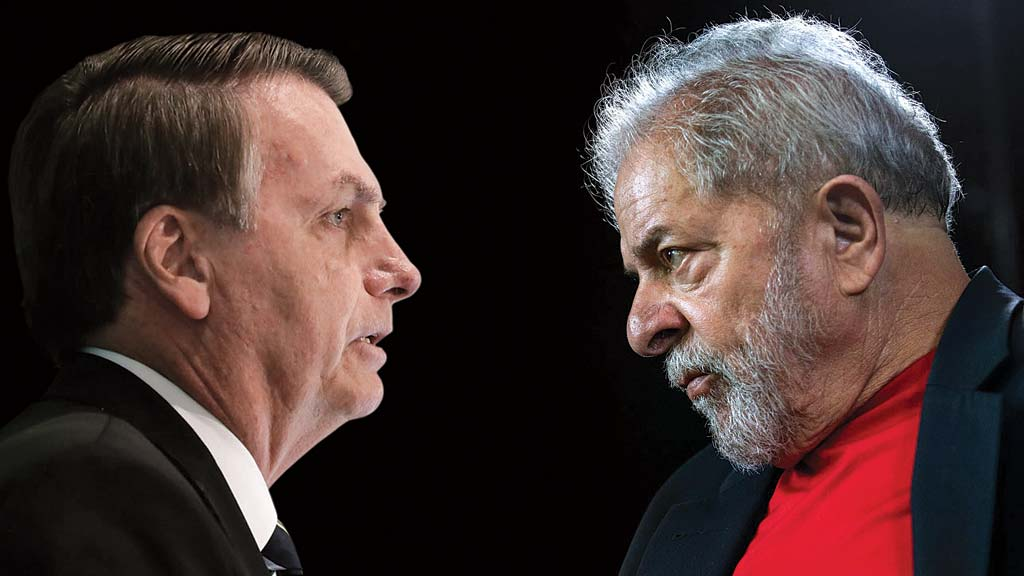 31 1 - De olho em 2022: Lula lidera e Jair Bolsonaro aparece em segundo, em enquete pela disputa presidencial, na Paraíba