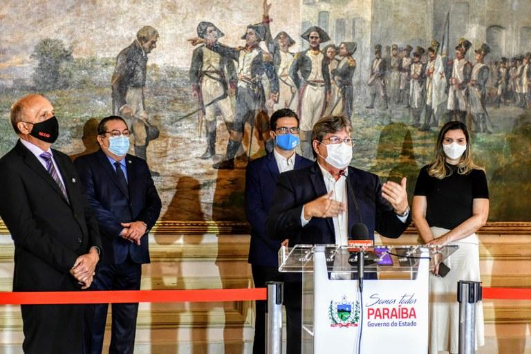 3ee86a97 a10c 46ec af6d 2366b5819069 - João Azevêdo assina contrato com o Banco Interamericano para execução do AMAR, projeto que fortalecer o SUS