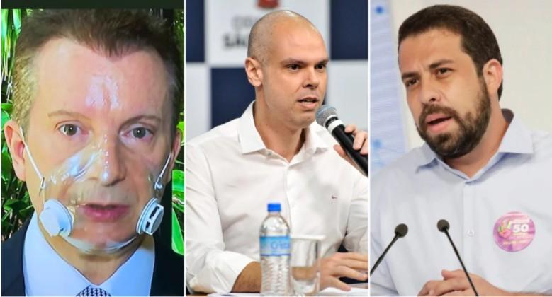 99658 - Prefeitura de São Paulo: Covas lidera, Russomanno cai 8 pontos e empata com Boulos no 2º lugar