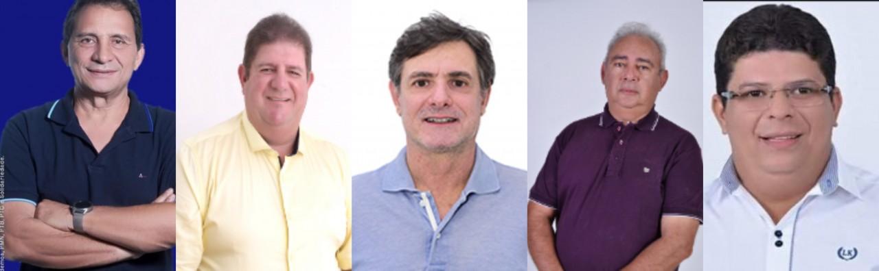 BeFunky collage - NA LISTA DO AUXÍLIO: milionários paraibanos receberam auxílio emergencial e agora são candidatos; veja lista