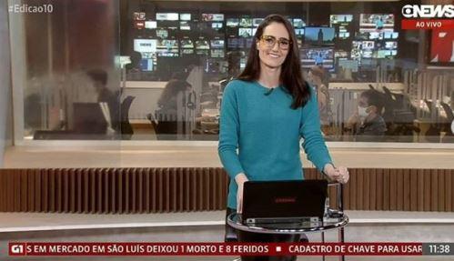 Capturar3 - Após 11 anos, GloboNews demite apresentadora do Edição das 10h