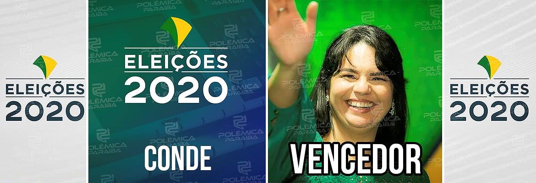 Conde Karla Pimentel - ELEIÇÕES 2020: Karla Pimentel, do PROS, é eleita prefeita em Conde com mais de 40% dos votos