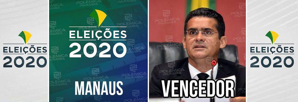 Manaus David Almeida 1024x350 - David Almeida, do Avante, é eleito prefeito de Manaus