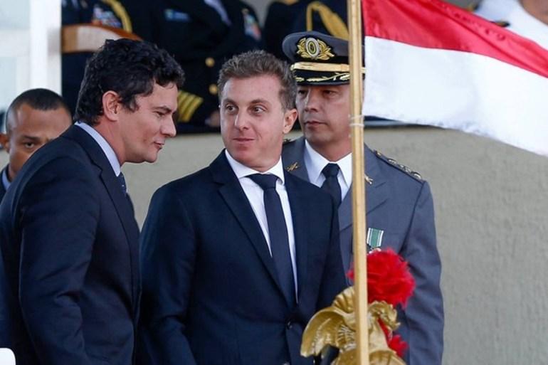 Moro e Huck - Moro e Huck negociam aliança eleitoral para disputa da Presidência em 2022
