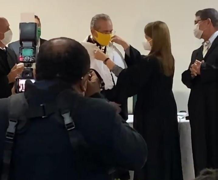 Reitor nomeado - Valdiney Gouveia é empossado como novo reitor da UFPB