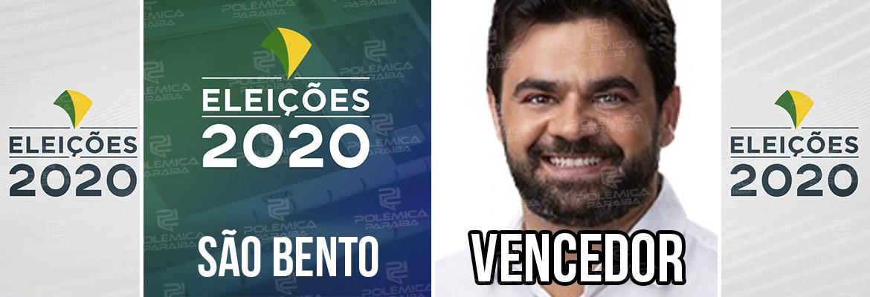 São Bento Dr Jarques - Dr. Jarques é eleito prefeito de São Bento, na Paraíba