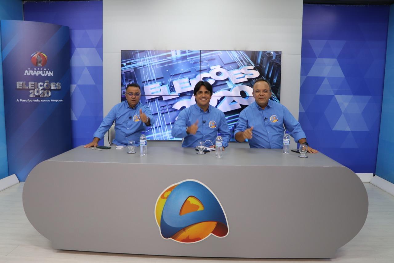 TV Arapuan cobertura - EFICIÊNCIA E QUALIDADE: pesquisa consolida TV Arapuan como a melhor cobertura das eleições 2020 na Paraíba; VEJA NÚMEROS