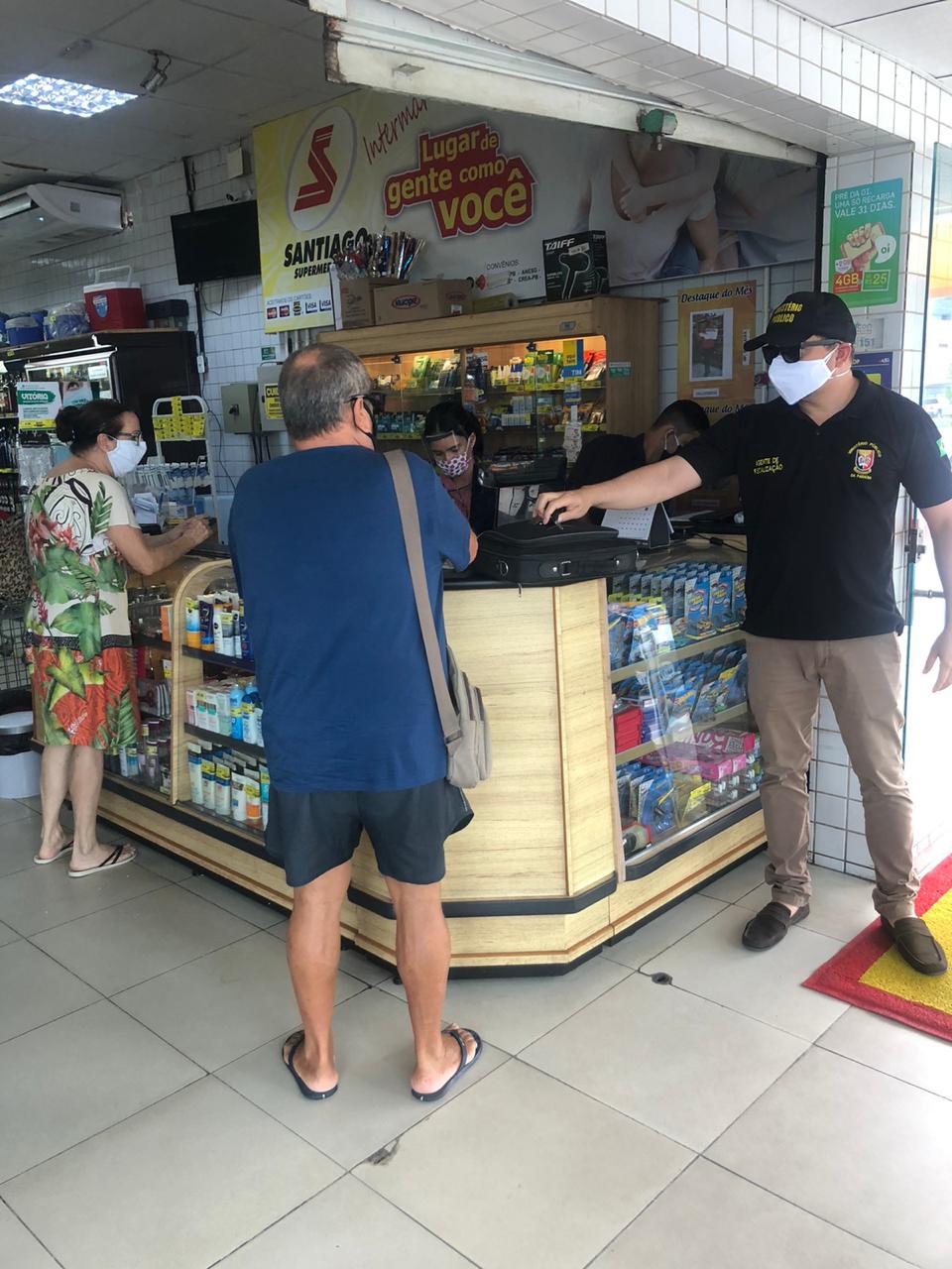 WhatsApp Image 2020 06 19 at 14.17.46 1 - Vigilância Sanitária intensifica fiscalizações em bares e restaurantes de João Pessoa