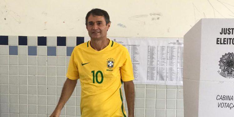 """WhatsApp Image 2020 11 15 at 13.31.39 - Romero vota em Galante, confiante na vitória de Bruno já primeiro turno: """"O trabalho deu certo, as pessoas reconhecem"""""""