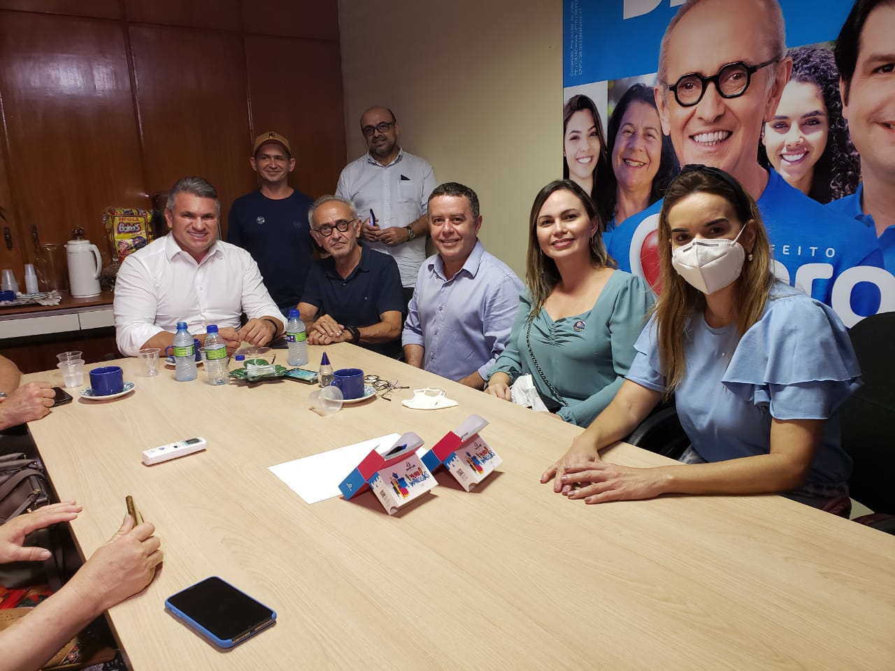 "WhatsApp Image 2020 11 17 at 17.34.42 - Dois partidos anunciam apoio a Cícero Lucena ""Acreditamos no projeto"""