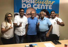 Emano Santos e João dos Santos declaram apoio a Cícero Lucena no segundo turno da capital