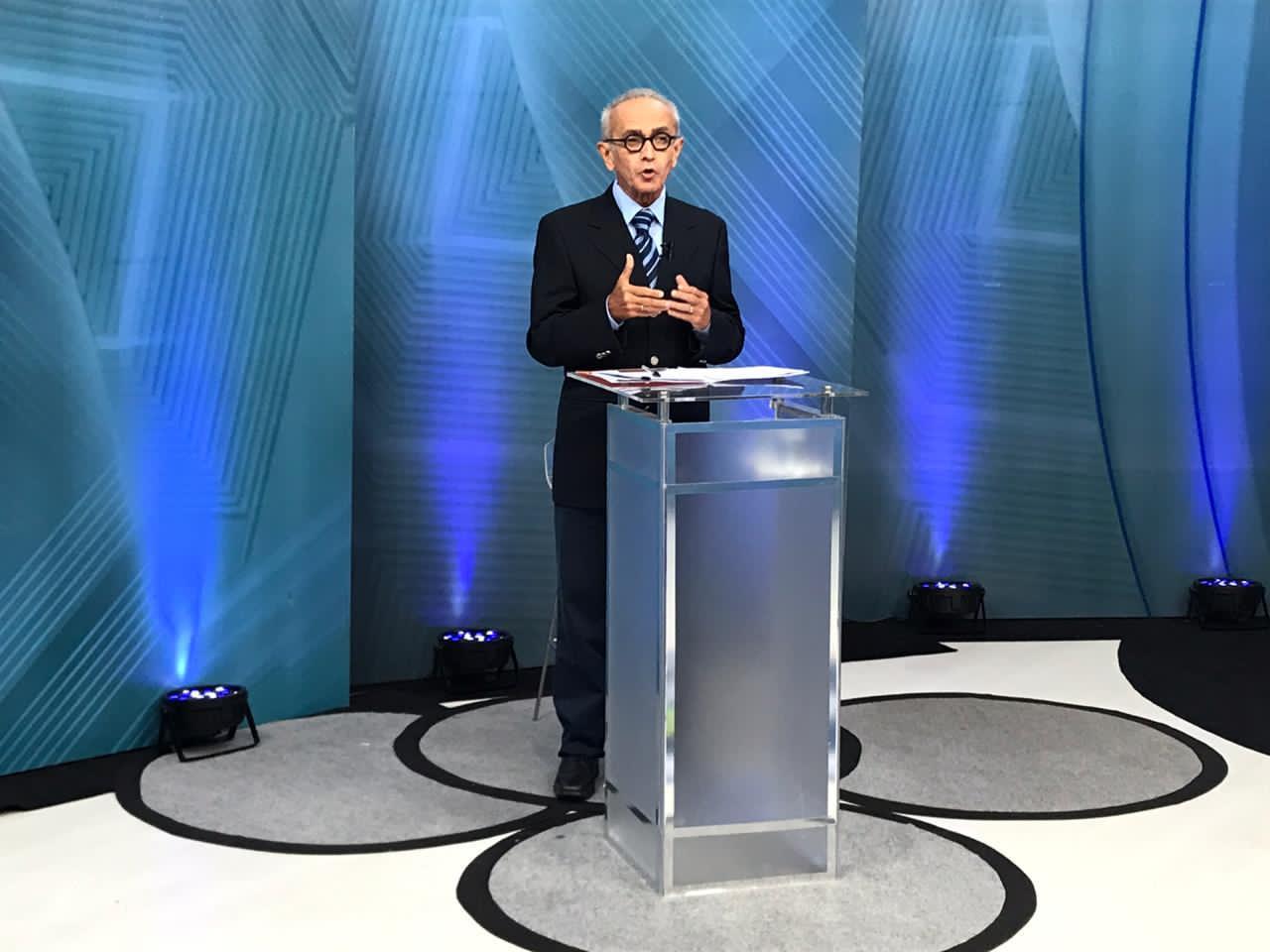 WhatsApp Image 2020 11 22 at 08.00.18 - Em debate na TV Correio, Cícero promete melhorar atendimento na saúde para idosos e modernizar escolas