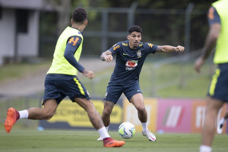 allan selecao brasileira - Tite esboça seleção com quatro novidades para duelo contra Venezuela