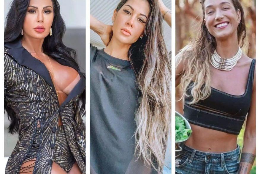 bbb2021 - Gabriela Pugliesi, Mayra Cardi e Gracyanne Barbosa são possíveis nomes cotados para integrar o BBB 21