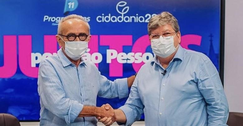 João Azevêdo cogita convidar Cícero ao Cidadania e diz ser