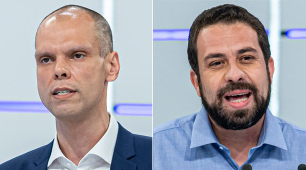 covas e boulo - Pesquisa Datafolha em São Paulo: Bruno Covas, 48%; Guilherme Boulos, 40%