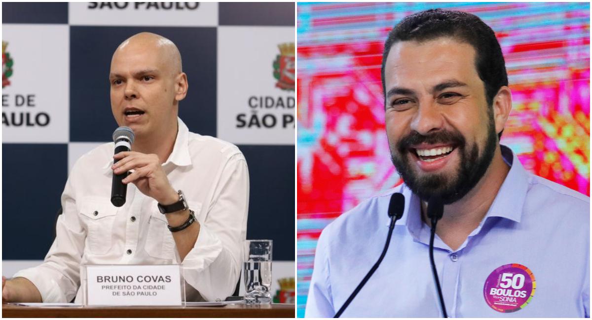 covasboulosresultado - Primeira pesquisa para o 2º turno em São Paulo: Covas 60% e Boulos 40%