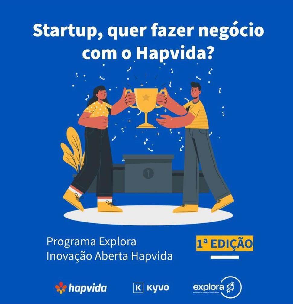 de5dfd82 ae85 4407 b906 36349c479eeb - Hapvida lança programa piloto de inovação aberta com startups