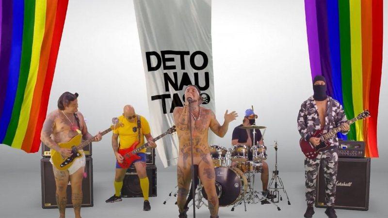detonautas kitgay reprod widelg - Detonautas debocha de fake news bolsonaristas em nova música didática; ouça 'Kit Gay'