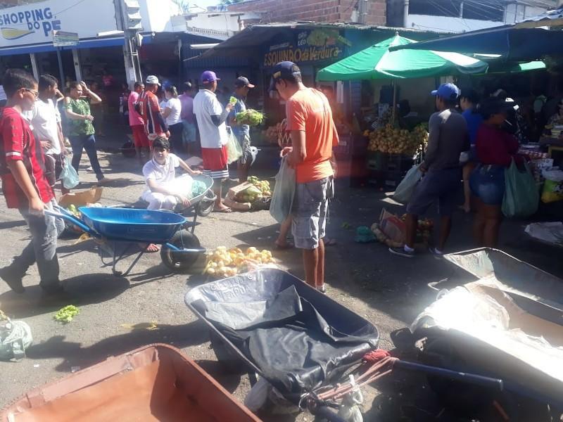 feira central1 - Feirantes cobram revitalização da Feira Central de Campina Grande