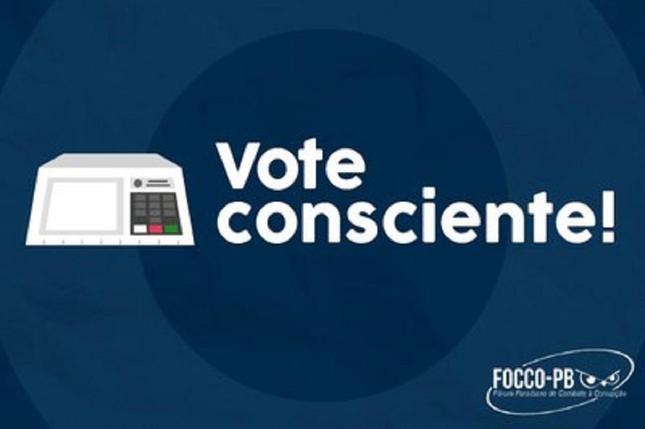 focco voto consciente - Focco-PB lança orientação para estimular voto consciente