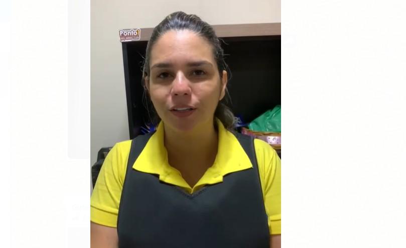 imagem 2020 11 16 230035 - Prefeita eleita do Conde faz vídeo vestida de colete à prova de balas devido a atentados que sofreu durante a campanha - VEJA VÍDEO