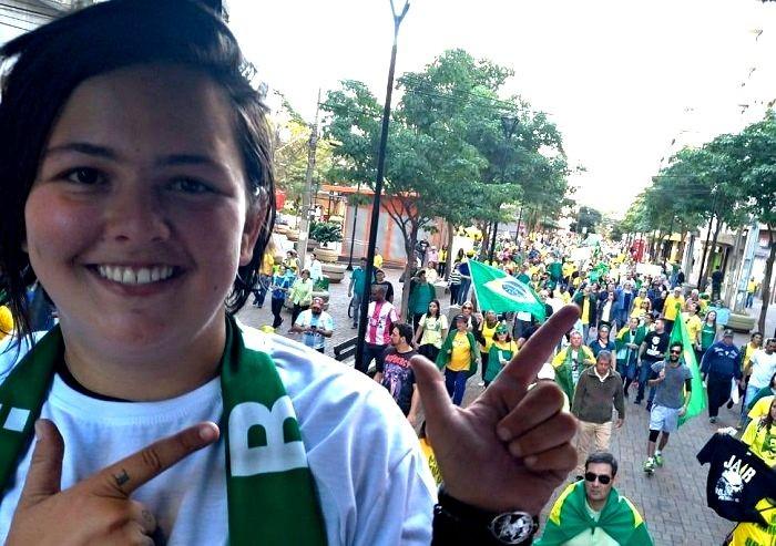imagem 2020 11 18 211241 - Vereadora lésbica diz que não vai fazer nada pela população LGBQIAP+ por estar 'fechada com Bolsonaro'