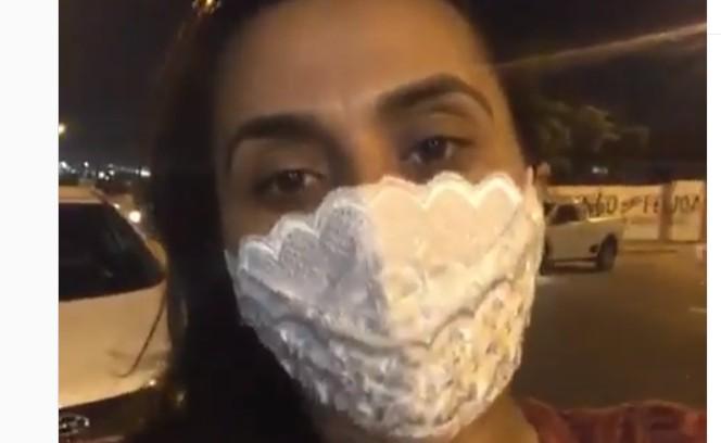 imagem 2020 11 30 205809 - 'Colocou o revólver na minha cintura e levou meu carro': Apresentadora de TV Jaceline Marques é assaltada na porta de igreja - VEJA VÍDEO