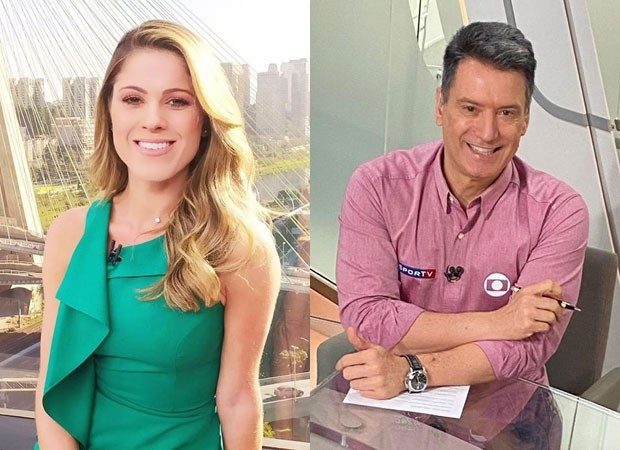 jacqueline brazil e luiz carlos jr - Discretos, jornalistas Jacqueline Brazil e Luiz Carlos Jr. iniciaram namoro há cinco meses