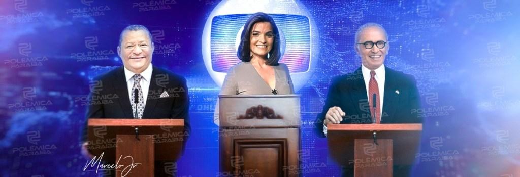 larissa cícero nilvan - TV Cabo Branco realiza último debate do segundo turno entre Cícero e Nilvan nesta sexta; veja as regras