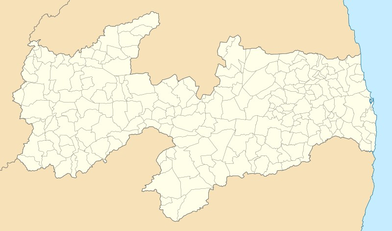 mapa paraiba - Paraíba é o estado com maior número de Regiões Metropolitanas no Brasil, diz IBGE - VEJA CIDADES