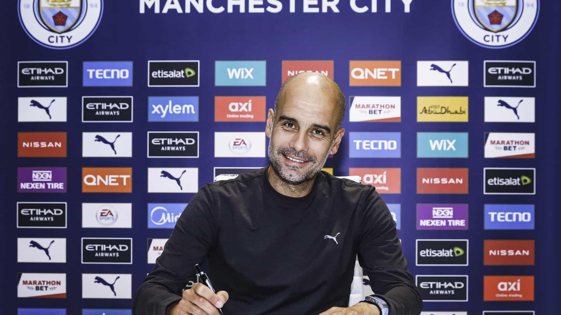 naom 5fb67398bdc13 - Manchester City anuncia a renovação de contrato do técnico Pep Guardiola até 2023