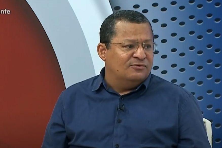 nilvan ferreira apresentador sistema correio entrevista tv arapuan 29062020 foto tv arapuan - Assessoria do candidato Nilvan Ferreira nega acusação de disparos de mensagens em massa