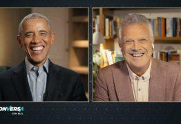 Barack Obama será entrevistado no 'Conversa com Bial' desta segunda e fala sobre 'pólvora e saliva' de Bolsonaro