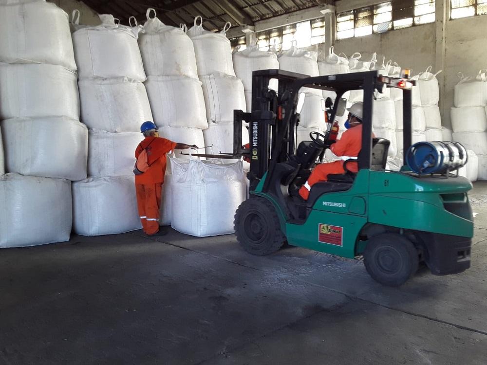 salmarinho - Sal marinho será exportado pela primeira vez pelo Porto de Cabedelo