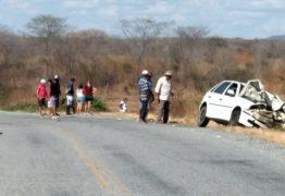 TRAGÉDIA: Três pessoas morrem em acidente envolvendo moto e carro entre Piancó e Coremas