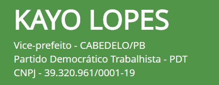 untitled - CABEDELO: MPE indefere candidatura de candidato a vice do PDT