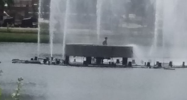 whatsapp image 2020 11 18 at 132848 - Homem é resgatado após ser flagrado nadando na Lagoa em João Pessoa - VEJA VÍDEO