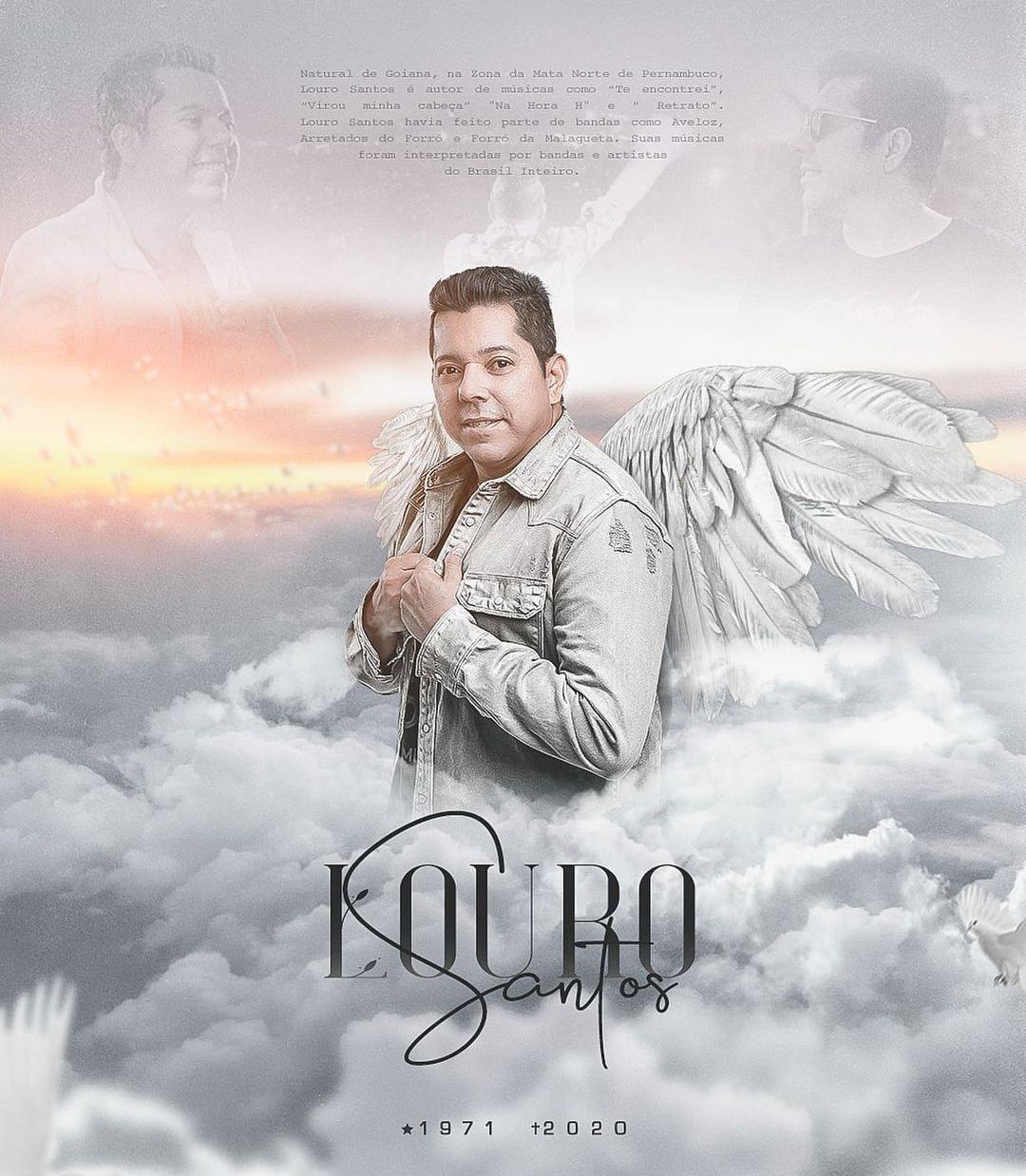 whatsapp image 2020 11 23 at 112245 1 - Cantor Louro Santos será sepultado às 13h desta segunda-feira, em Pernambuco