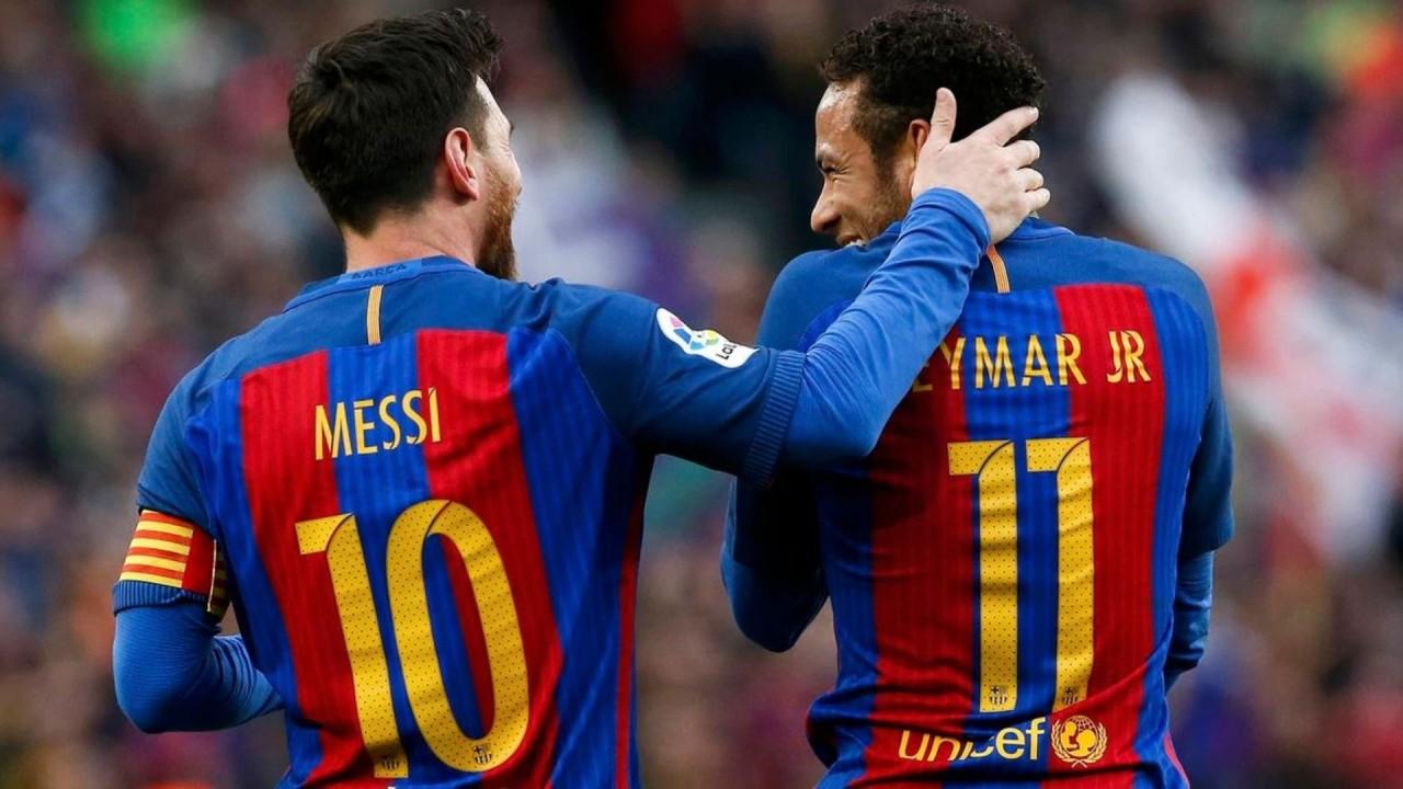 """1 messi e neymar - Neymar sobre Messi: """"O que mais quero é voltar a jogar com ele"""""""