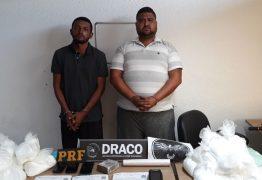 São identificados os homens presos na PB, acusados de atuar em tráfico internacional de drogas; confira
