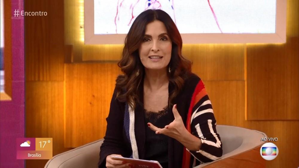 """fatima bernardes encontro bonner - DE SAÍDA?! Fátima Bernardes deixará seu programa """"Encontro"""" em outubro, diz colunista"""