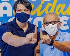 Posse de Cícero Lucena e Léo Bezerra acontece às 17h na Câmara Municipal