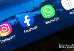 FORA DO AR! Whatsapp, Instagram e Facebook apresentam falhas e usuários não conseguem acessar redes sociais