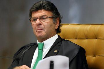 """ministro luiz fux durante sessacc83o do stf 360x240 - Com impasse no Senado, Fux diz ser importante que STF """"esteja completo"""""""