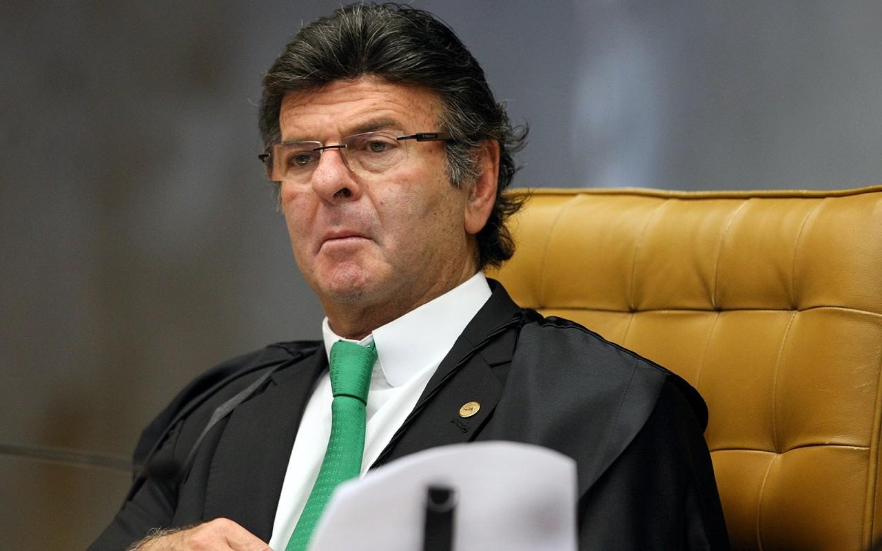ministro luiz fux durante sessacc83o do stf - Independência entre os poderes não implica impunidade, diz Fux após ataques