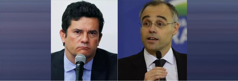 moro x andre - Por causa de Bolsonaro, Sérgio Moro e André Mendonça batem boca nas redes sociais